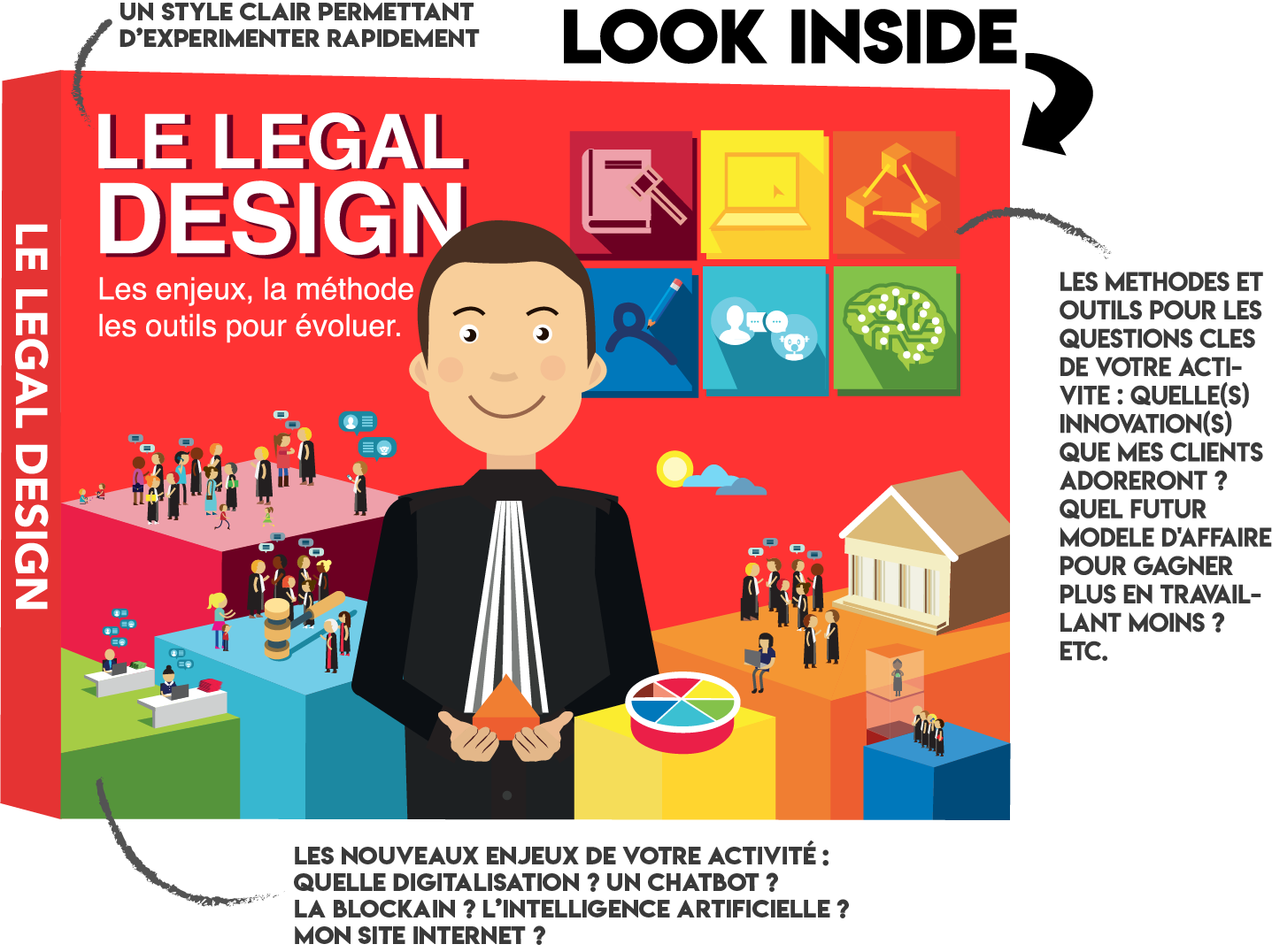 Livre Legal Design - Fabrice Mauléon